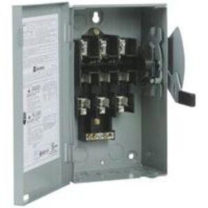 Eaton DG321NGB Safety Switch, 30A, 3P, 240V, Type DG, Fusible, NEMA 1