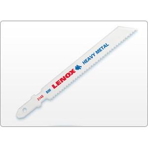 "Lenox 20816B318S Jigsaw Blade, 3.625"" Length, 18 TPI, Metal Cutting"