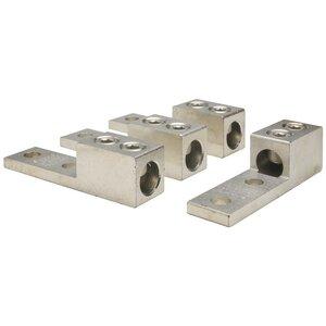 Square D CMELK4 Lug Kit, Mechanical, 4 per Package, 2AWG to 600MCM, AL/Cu