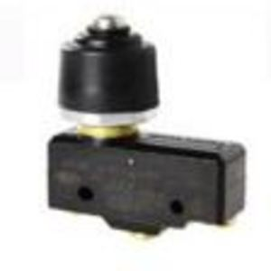 Micro Switch BZ-2RQ77 Switch, Basic, Overtravel Plunger, 15A, 250VAC, 1PDT, Panel Mount