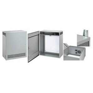 nVent Hoffman T1F80LP Enclosure with Ventilation System, NEMA 1, Hinge Cover