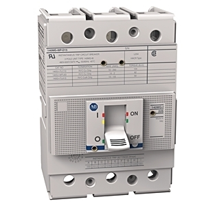 Allen-Bradley 140MG-I8P-D15 Breaker, Molded Case, 150A, I Frame, 480VAC, 65kAIC, Magnetic Only