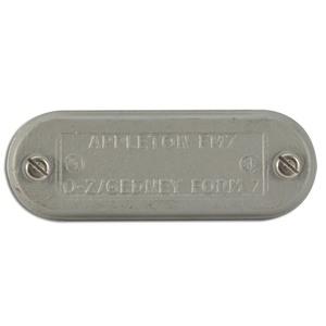 "Appleton 270F Conduit Body Cover, 3/4"", Form 7, Iron Alloy"