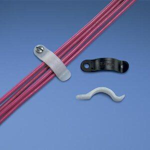 """Panduit TWR-C Tension Wire Retainer, .38"""" (9.7mm) Bund"""