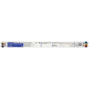 Lutron H3DT554CU210 Electronic Dimming Ballast, Fluorescent, T5, 2-Lamp, 54W, 120-277V
