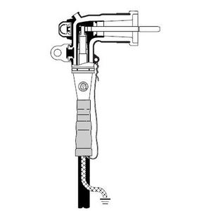 3M 5810-B-1 15kv-200a Industrial Loadbreak Elbow Connector