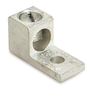 Thomas & Betts ADR2 Mechanical Lug, 1-Conductor, 1-Hole Mount, Aluminum, 14 - 2 AWG