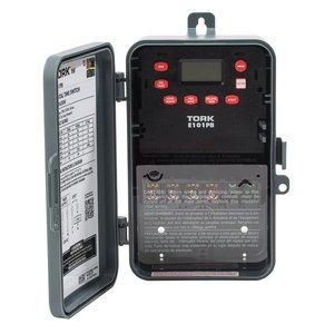 NSI Tork E101PB Time Switch, 24-Hour, SPST, NEMA 3R, 30A, 120V