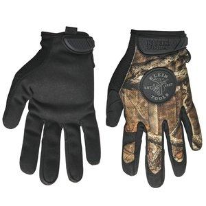 Klein 40209 Camouflage Gloves, Large