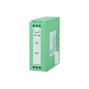 Flex-Core MVT300A Din Rail Mounted AC Voltage Transducer, 0-300VAC, 0-1mADC