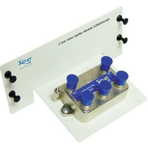 International Connectors & Cable ICRESAV42L Splitter, 4-Way, Video, 2 GHz, Residential, Panel Mount
