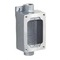 Hubbell-Killark UGRB6-20231 Enclosed Receptacle, 20A, 125V, Feedthru, 1