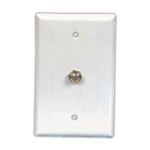 Eaton Wiring Devices 2072LA EWD 2072LA Wlplt W/1 F Type Coax Ad