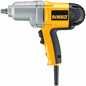 "DEWALT DW292 1/2"" (13MM) Impact Wrench With Detent Pin Anvil"