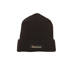 Workrite Uniform 575NX12BK Nomex IIIA Knit Beanie, Black