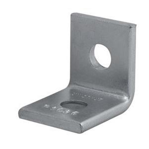Unistrut P1026-EG Two Hole Corner Angle, Steel/Electro-Galvanized