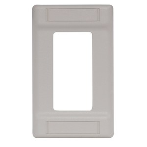 Hubbell-Premise IFP126OW PLATE 1-G COV LOADS UPTO 6P LBL FLD OW