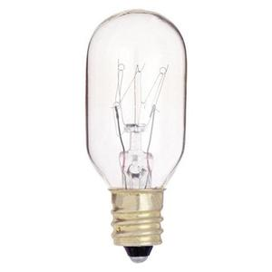 Satco S3905 Incandescent Bulb, T7, 15W, 130V, Clear