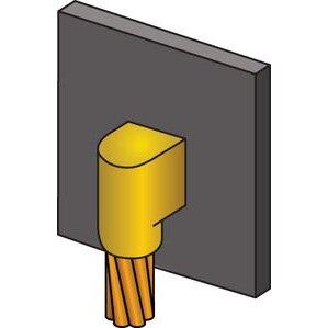 nVent Erico VBC1LV3C CAD VBC1LV3C #6SOL TO PIP