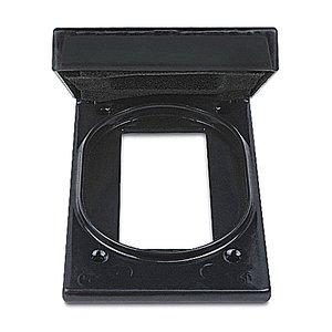 Ocal CFSRG-G PVC CTD VERT MNT GFCI BOX CVR AL GR