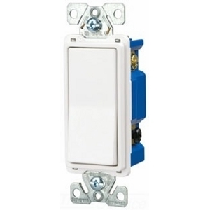 Eaton Arrow Hart 7504W-BOX Four-Way Decora Switch, 15A, 120/277VAC, White