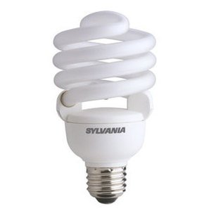 SYLVANIA CF30EL/TWIST/DAY/835/RP Compact Fluorescent Lamp, Twister, 30W, 3500K