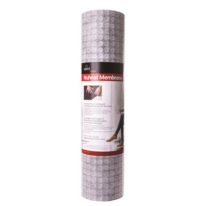 nVent NuHeat NUMEM054 NUHEAT MEMBRANE SMALL ROLL (54 SQFT) ROLL DIMENSIONS 3FT 3IN X 16.5FT