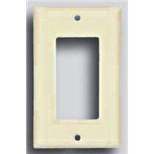 Eaton Wiring Devices 2151B-BOX WALLPLATE 1G DECORATOR THERMOSET STD BR