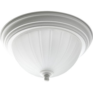 Progress Lighting P3816-30 Close to Ceiling Light, 1-Light, 75W, White