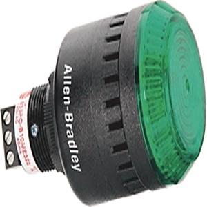 Allen-Bradley 855PC-B24ME322 LIGHT AND SOUND COMB ALARM LIGHT AND SOU