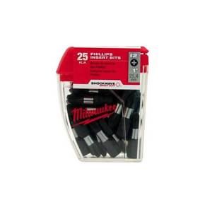 Milwaukee 48-32-4604 Phillips Power Bit Contractor Pack, #2