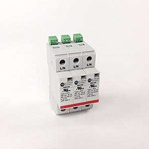 Allen-Bradley 4983-DS480-403 Surge Protection Device, 480VAC, 3P, Din Rail Mount, 1800V VPR