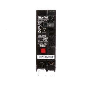 Siemens QE130 Breaker 30a 1p 120v 10k Qe Gfi 30ma