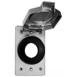 Cooper Crouse-Hinds WLRS1 WET SGL SPDR CVR W/GASK DIA. 1 3/8