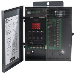 NSI Tork DLC400BP Lighting Control Panel, 365 Day, SPDT, 4 Channel, 120-277V