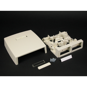 Wiremold CM-MMB-232-WH 2 INSERT 2300 SERIES BOX WHITE