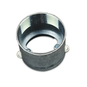 """Wiremold 436-2-23/8 Afterset Inserts For Duct, 2"""" Depth, 2-3/8"""" Diameter, Steel"""