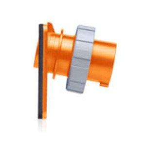 Leviton 420B12W 20a Pin&sleeve Inlet
