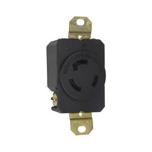 Pass & Seymour L1120-R TURNLOK RECEPTACLE 3W