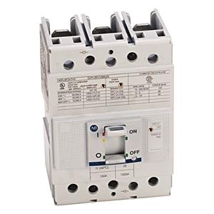 Allen-Bradley 140G-I2C3-D15 Breaker, Molded Case, 150A, 3P, 600VAC, 25kAIC