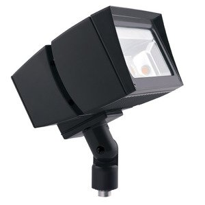 RAB FFLED39 Flood Light, LED, 39W, Bronze