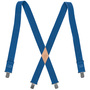 60223B  SUSPENDERS ELASTIC-BACK BLUE