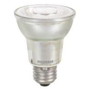 SYLVANIA LED7PAR20DIM830NFL2522YGL3WRP LED Lamp, 7W, 525L, 3000K, PAR20, Medium Base, 120V