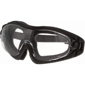 Lift Safety ERE-8C Black Protective Goggle - Adjustable, Clear