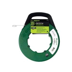 Greenlee FTS438-125BP Fish Tape with Winder Case, 125'