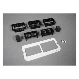 Wiremold 6MAAP2A Device Mounting Plate, Accepts (3) MAAP Plates & (2) Data Ports