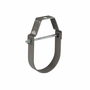 """Cooper B-Line B3100-1ZN Pipe Hanger, Pipe Size: 1"""", Rod Size: 3/8-16, Material: Steel/Zinc"""