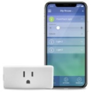 Leviton DW15P-1BW Smart Wi-Fi Plug in Outlet