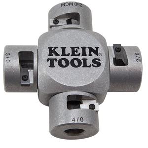 Klein 21051 Large Cable Stripper, 2/0-250 MCM, Clover Design