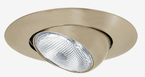 """Elite Lighting B602BK Eyeball Trim, 6"""", Black"""